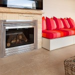 Fireplace and Floor tiling