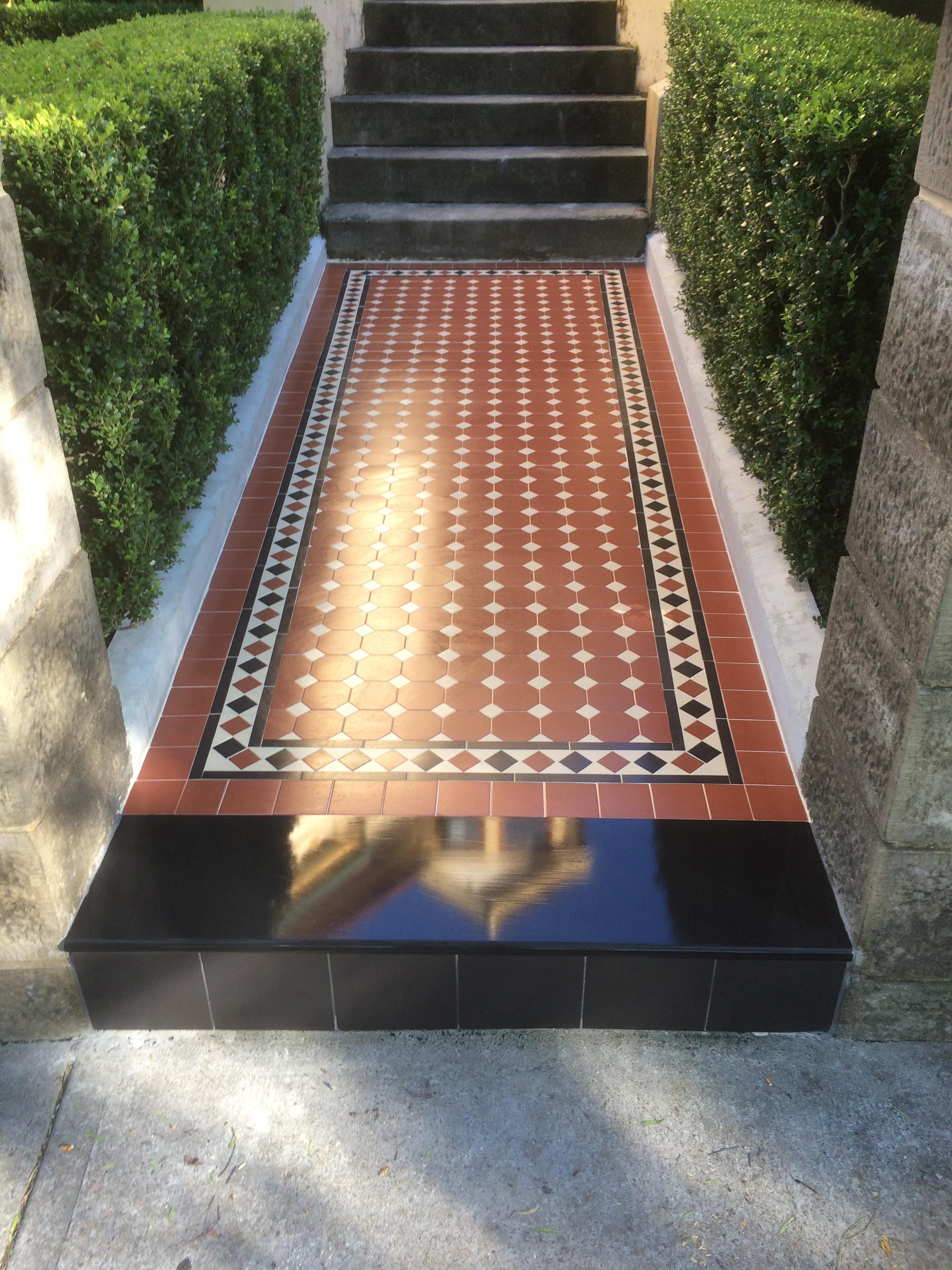 Tessellated Heritage tiling