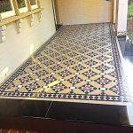 Tessellated Brown, Black, Red and Tan tiles - Verandah