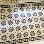 Tessellated Beige, Black and Tan tiles - Hallway