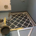 Mosaic tiling - Shower - Drummoyne