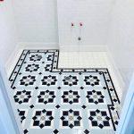 Tessellated Bathroom Floor tiling