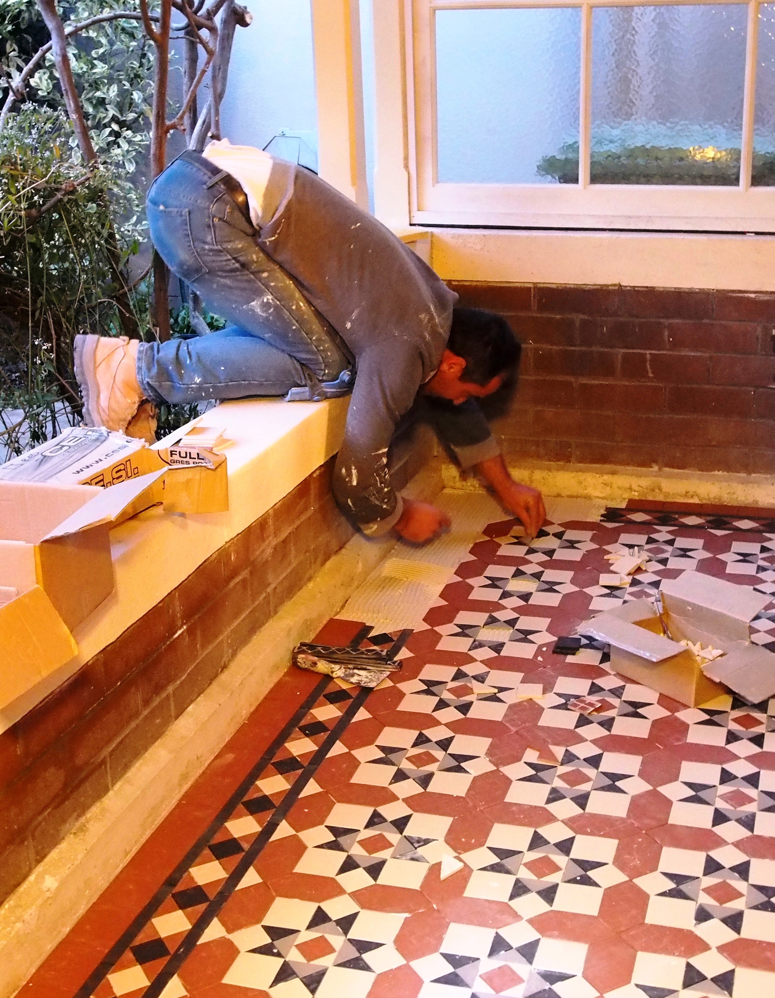 Tessellated tiling is an art that requires an artist | tessellated tiling sydney